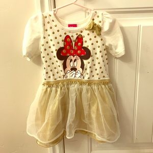 Disney Store Minnie Mouse Holiday Dress